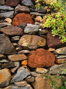 Stone wall in Prazeres Photo www.madeiraarchipelago.com